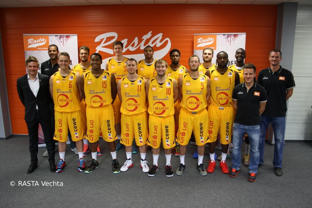 Rasta Vechta Team 2014-2015
