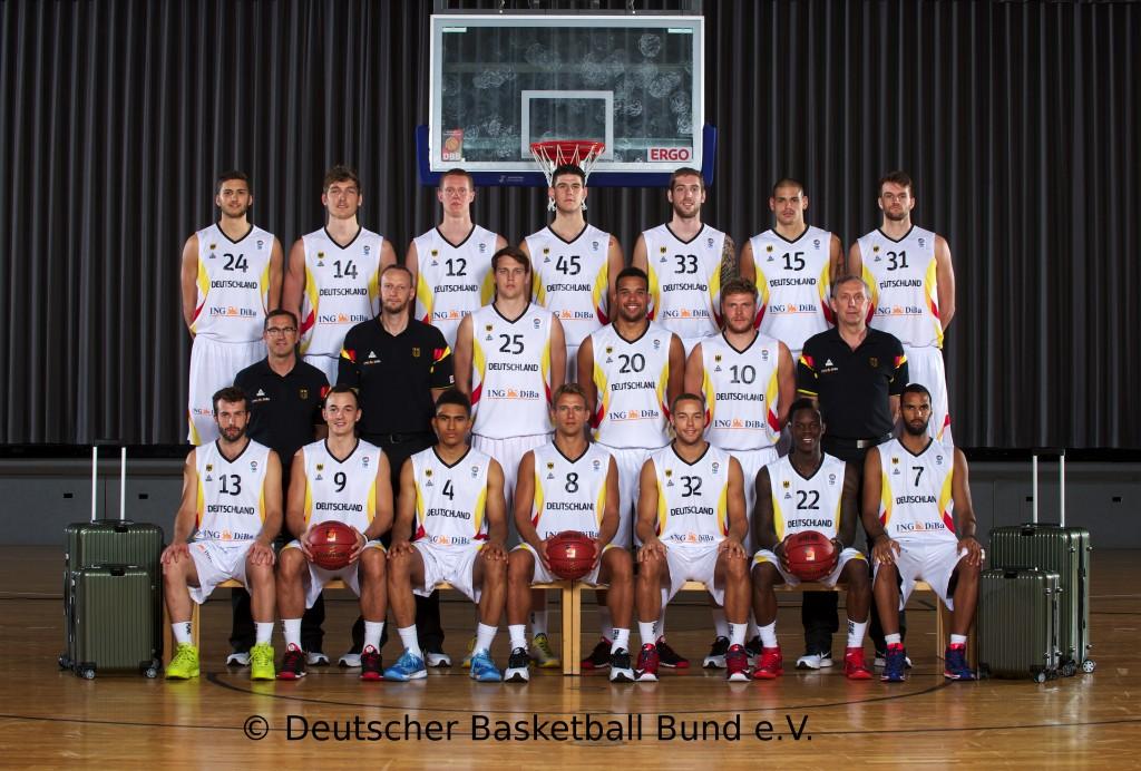 Teamfoto DBB Natio