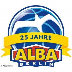 Alba Berlin Logo 25 Jahre