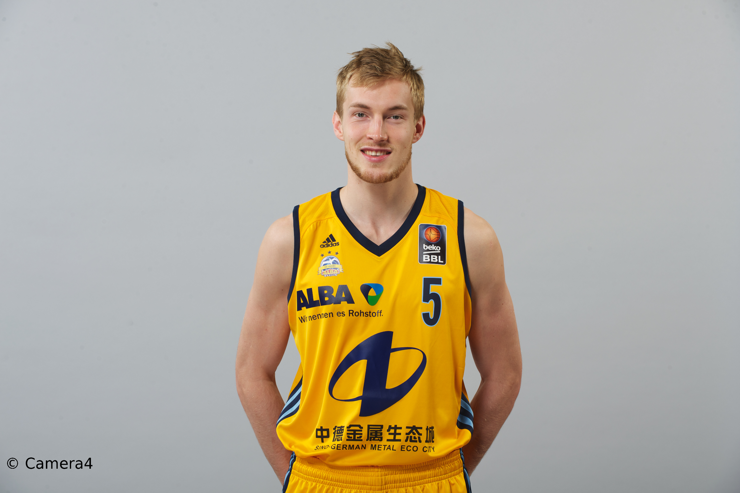 Niels Giffey – der NCAA-Champion in Diensten von ALBA BERLIN