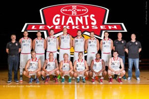 Bayer Giants Teamportrait