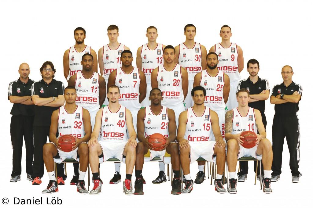 Brose Baskets Bamberg Teamportrait