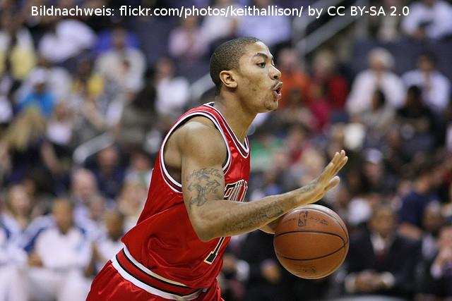 Derrick Rose – NBA Teams bekunden ihr Interesse