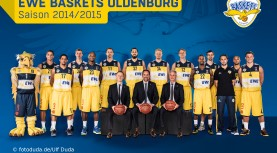EWE Baskets Oldenburg – der Kader für 2014/15