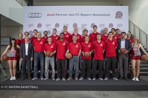 Audi - Fahrzeugübergabe FCBB 2014