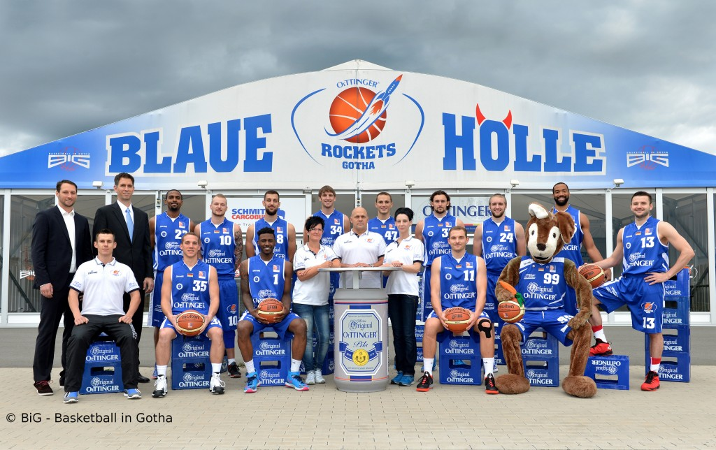 Gotha Rockets Teamportrait