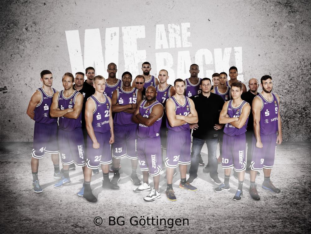 BG Göttingen – der Kader für 2014/15