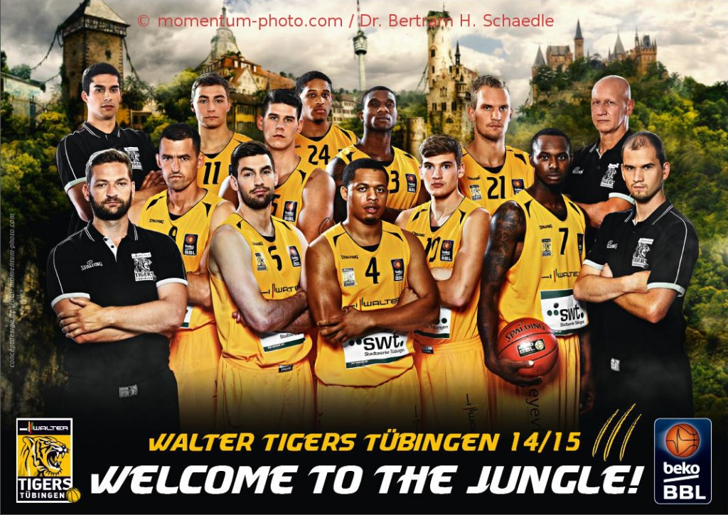 Walter-Tigers-Tübingen-Teamportrait