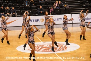 EuroLeague Cheerleader