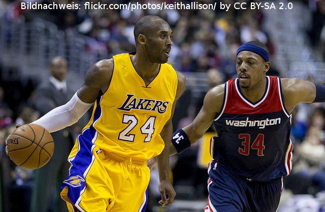 Ein Blick auf meine Los Angeles Lakers