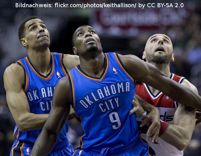 NBA – Harte Strafen für Ibaka und Chriss
