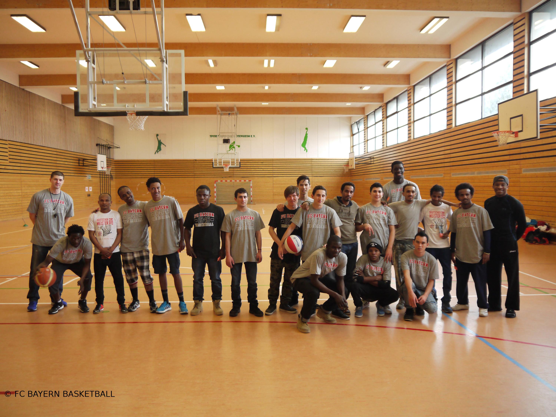 Basketball-Projekt für Flüchtlinge gestartet