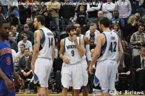 Rubio Love Pekovic Timberwolves