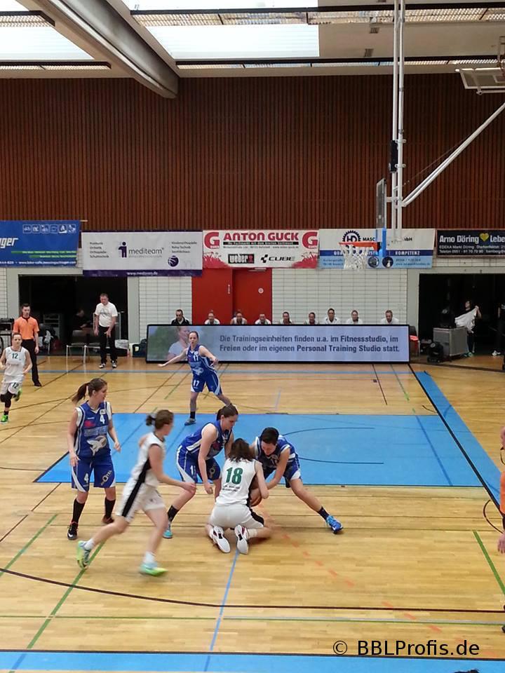 DJK Brose Bamberg gewinnt erstes Playoff-Halbfinale gegen Take-Off-Würzburg mit 61:44
