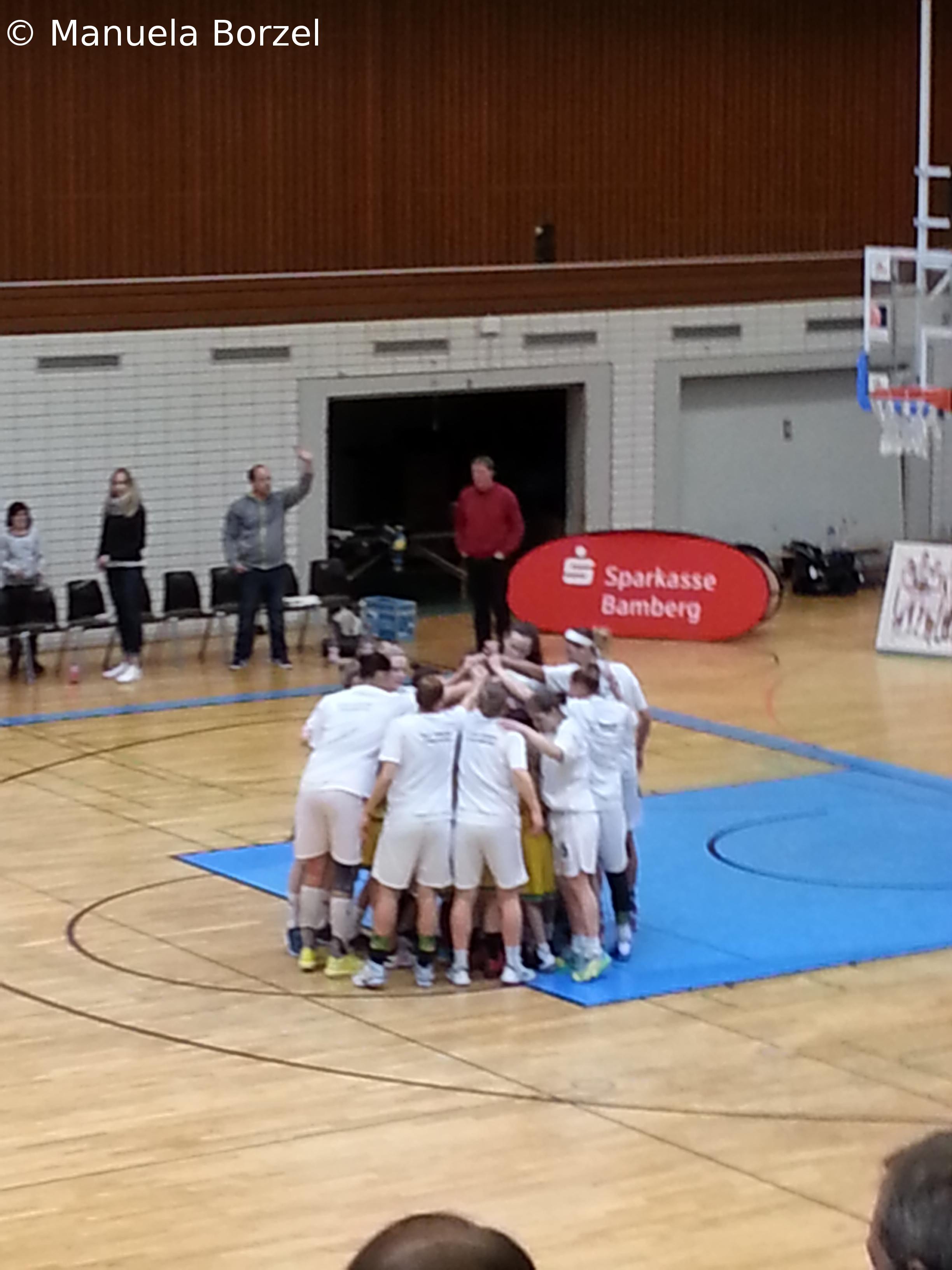 Letztes Heimspiel der Hauptrunde als Werbe – Event für Mädchen- und Damenbasketball