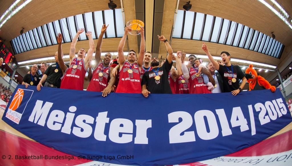 Giessen 46ers - s. Oliver Baskets Würzburg