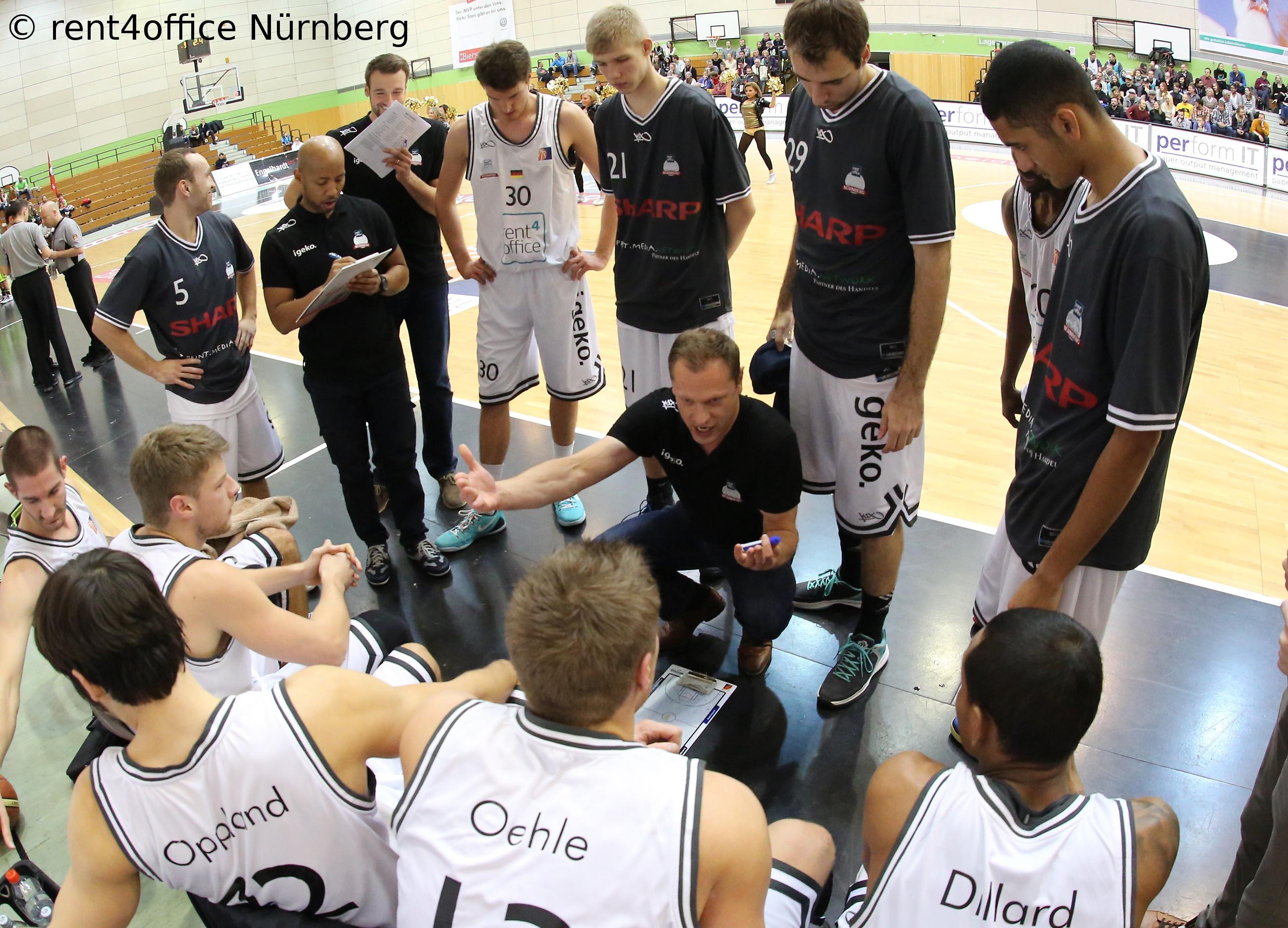 rent4office Nürnberg mit knapper Niederlage gegen Team USA