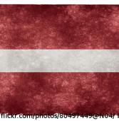 Bambergs Scharfschütze im lettischen Aufgebot