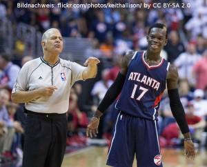 Atlanta Hawks - Dennis Schröder - Joe Crawford
