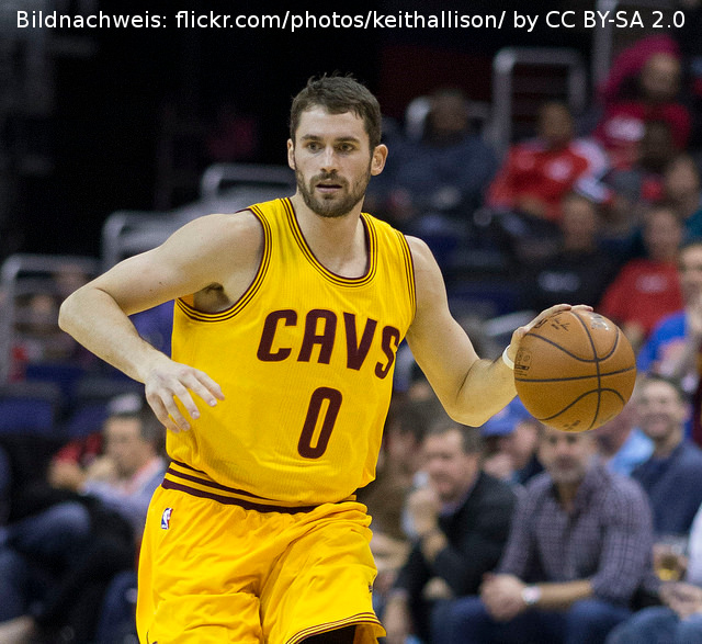 Kevin Love fehlt den Cleveland Cavaliers