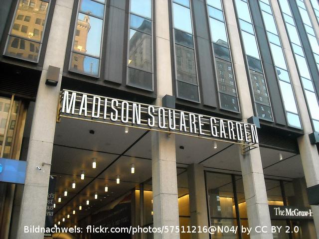 Madison Square Garden – die Kult-Spielstätte