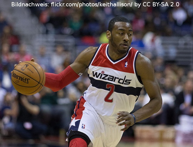 Zahltag in Washington für John Wall