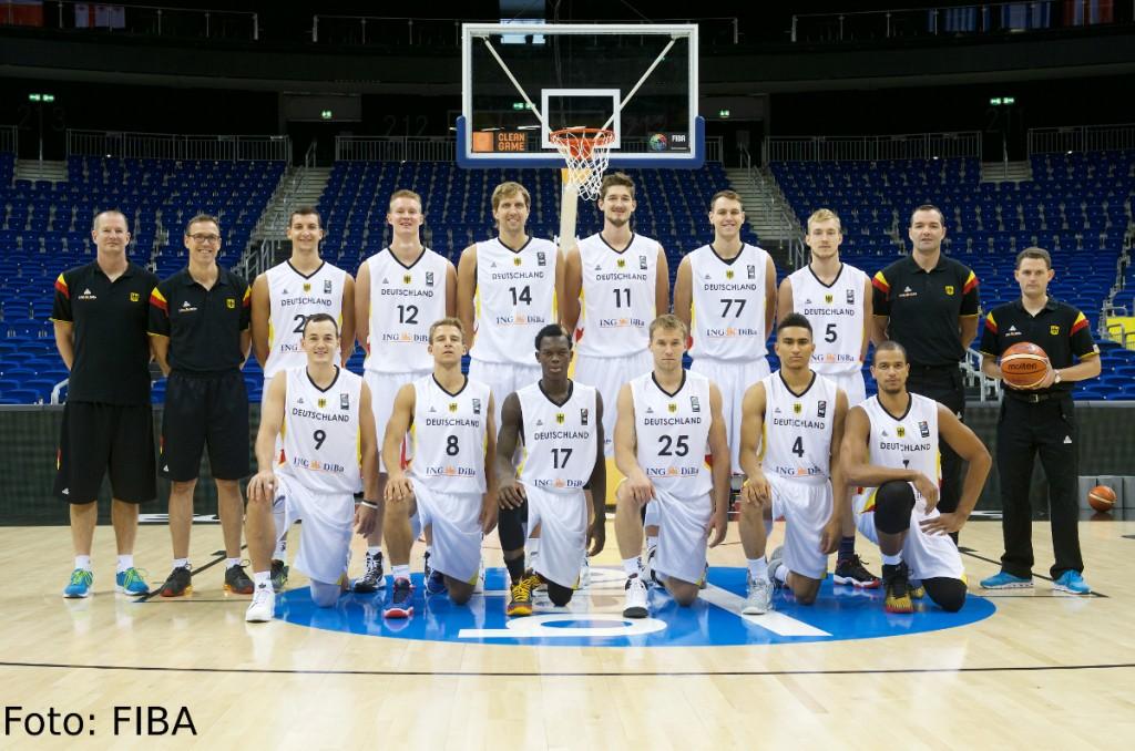 DBB Mannschaftsfoto EuroBasket2015
