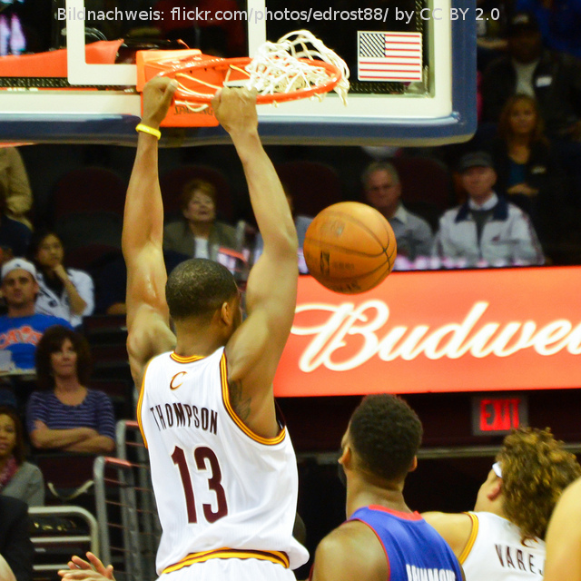 "Tristan Thompson will den ""Sixth Man of the Year"" Award gewinnen"