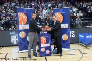 Zweite Basketball Bundesliga Eröffnung