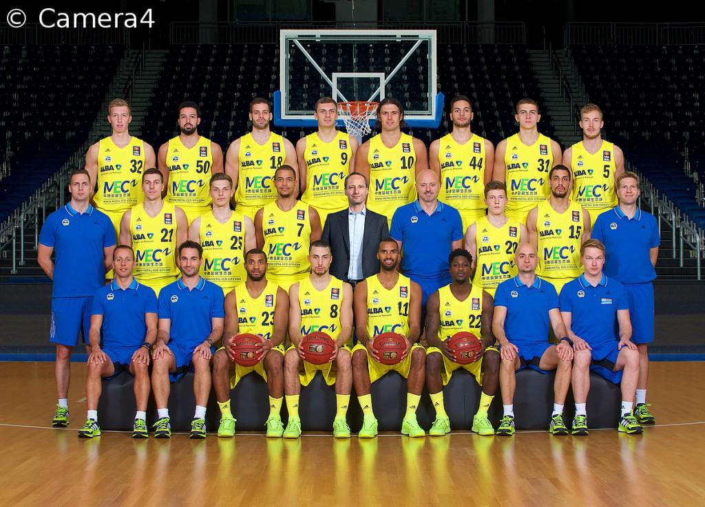 ALBA BERLIN 2015 2016 - Teamfoto