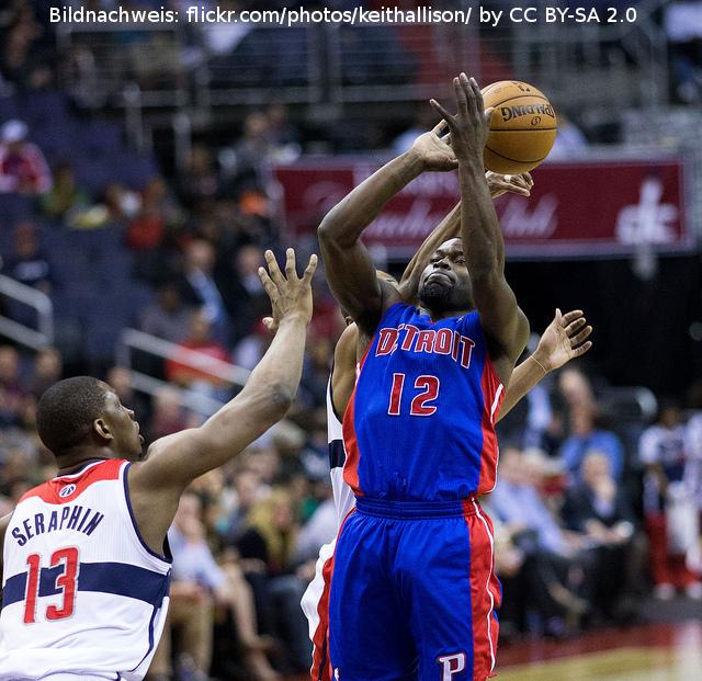 Detroit Pistons verstärken sich mit Tobias Harris