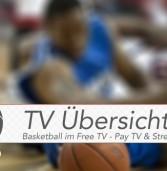 Die Basketball TV Übersicht für die laufende Woche