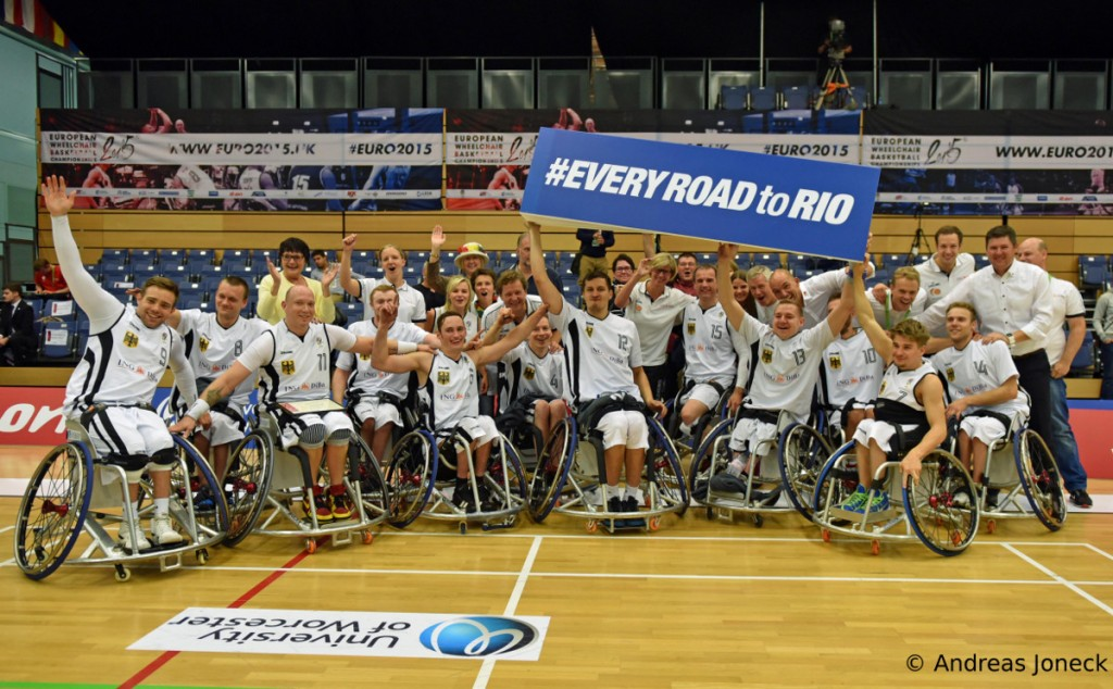 Rollstuhlbasketball - Road to Rio