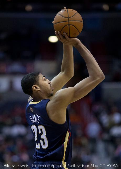 NBA: Kuriose Strafe gegen Anthony Davis