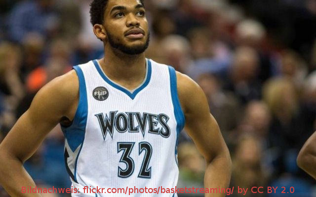NBA – Zahltag für Big Man Karl-Anthony Towns