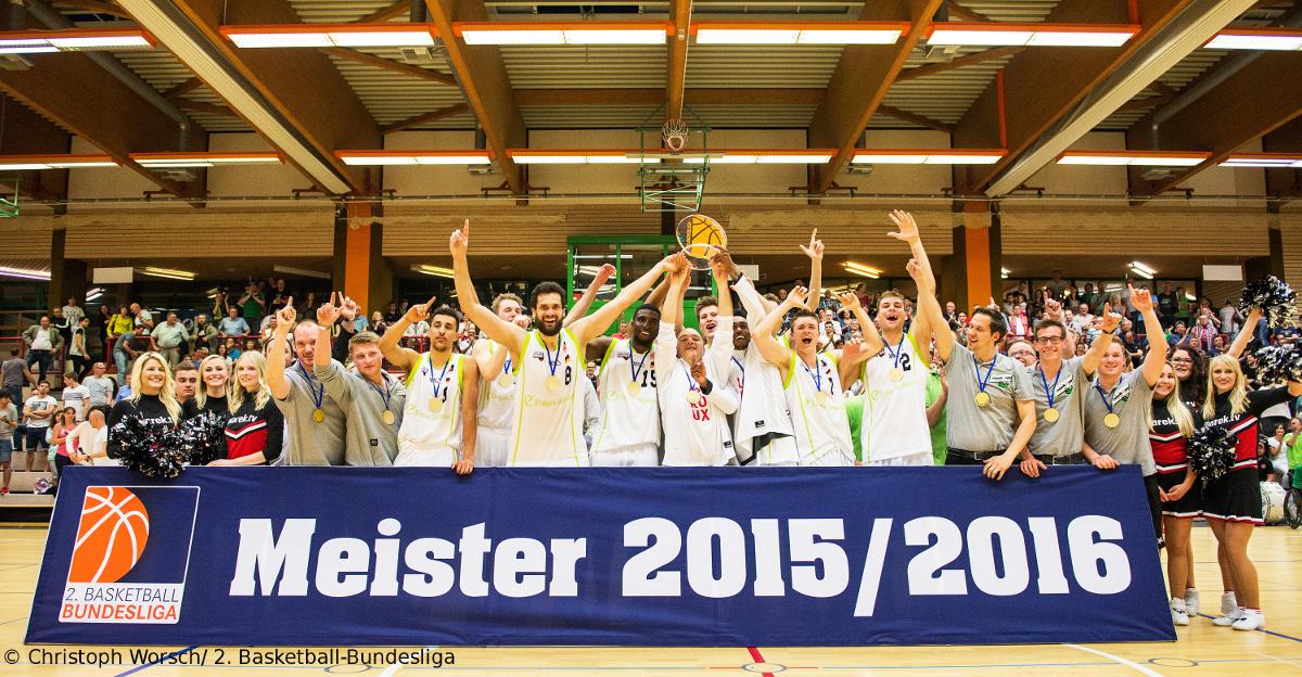 Meisterschaft in der 2. Bundesliga ProB entschieden