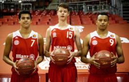 Drei Jugend-Auswahlspieler wechseln zum FC Bayern Basketball