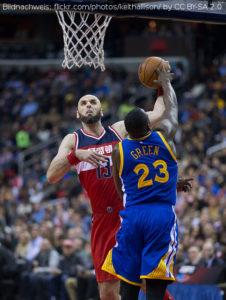 NBA - Marcin Gortat & Draymond Green