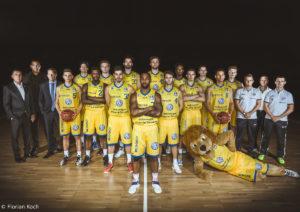 Basketball Löwen Braunschweig - Teamfoto