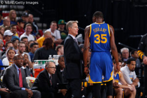 Golden State Warriors - Steve Kerr - Kevin Durant