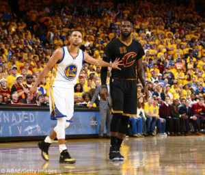 NBA - Steph Curry - Lebron James