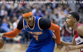 Carmelo Anthony unterschreibt bei den Rockets