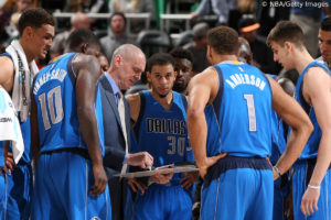 US - Action - Dallas Mavericks - Rick Carlisle
