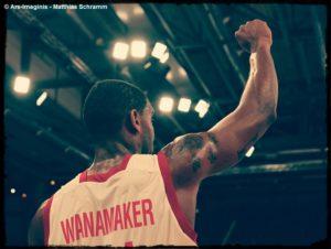 DE - Brose Bamberg - BBL - Bradley Wanamaker - Action