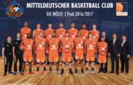 Mitteldeutscher BC möchte ProA Ligarekord brechen