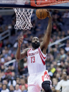 US - Action - Houston Rockets - James Harden