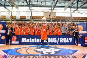 DE - ProA Meister 2016 2017 Mitteldeutscher BC