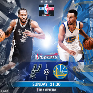 Nur auf Nachfrage verwenden - Golden State Warriors vs San Antonio Spurs 2