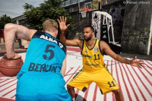 DE - Action - ALBA BERLIN - Niels Giffey - Akeem Vargas