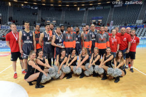 DE - Action - FC Bayern Basketball - Teamfoto Zadar Cup